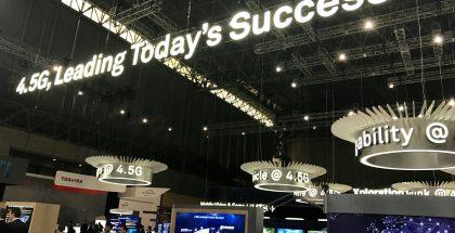 4.5G oli näkyvästi esillä Tokiossa järjestetyssä Huawein Mobile Broadband Forumissa.