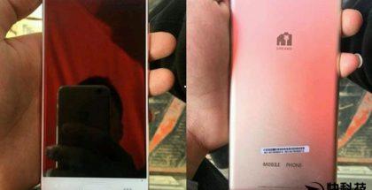 Huawei P10 jo 3 kuukautta sitten vuotokuvissa.