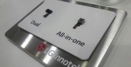 LG Innotekin uusi iirisskannerin kameraan yhdistävä moduuli mahtuu pienempään tilaan.