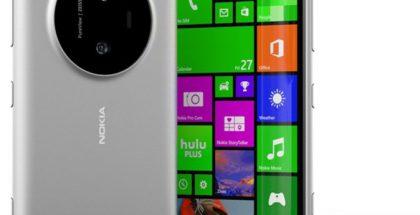 Lumia 1030 eli koodinimi McLaren. Evan Blassin Twitterissä vuotama kuva.