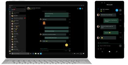 SMS-tekstiviestit puhelimesta näkyvät nyt Windows 10 -tietokoneen Skype Preview -sovelluksessakin.