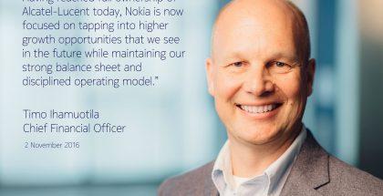 Nokia kertoi Alcatel-Lucentin täydestä omistuksesta.