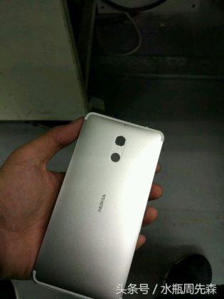 Todennäköisesti aito Android-Nokian runko.