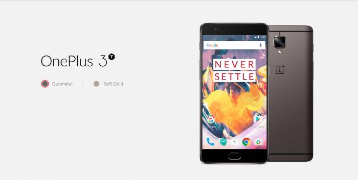 OnePlus 3T.