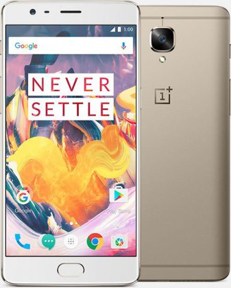 OnePlus 3T Soft Gold.