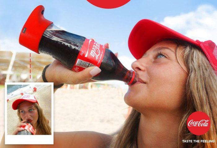 Coca-Cola selfie