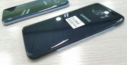 Musta Galaxy S7 edge