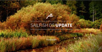 Uusin Sailfish-päivitys on nimeltään Haapajoki.