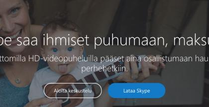 Skype-keskustelun voi nyt aloittaa vaivattomasti verkosta.