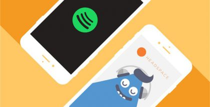 Spotify + HeadSpace.