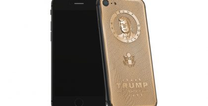 Caviarin kullattu Trump iPhone 7.