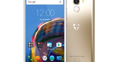 Wileyfox esitteli uusia Cyanogen-puhelimia vasta hiljattain.