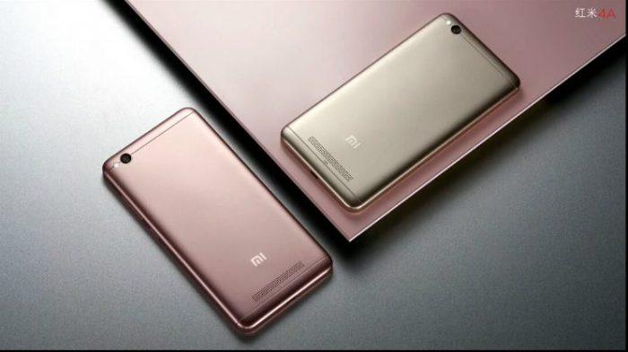 Xiaomi Redmi 4A.