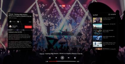 YouTube VR.