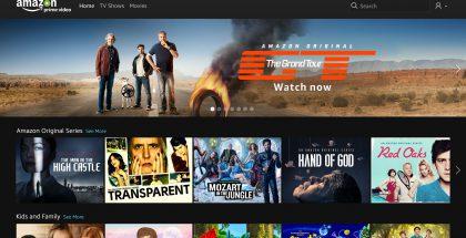 Amazon Prime Video mainostaa mielellään entisten Top Gear -tähtien uutta sarjaa, The Grand Touria. Kuva: BusinessWire.
