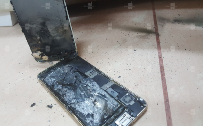 Apple iPhone 6s räjähdys
