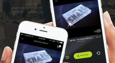 AmpMe mahdollistaa eri laitteiden voimien yhdistämisen äänentoiston vahvistamiseksi.