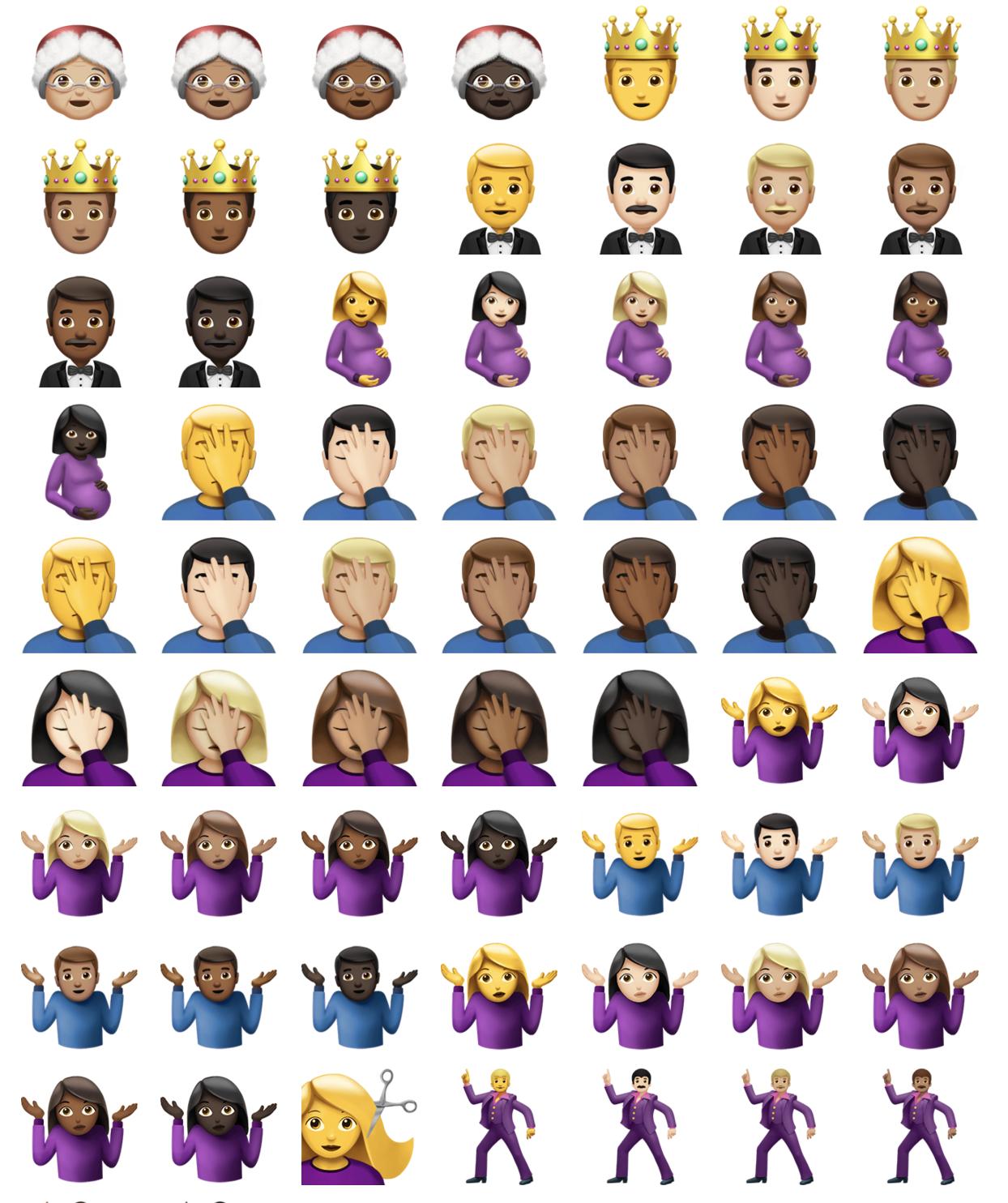 Uudet Emojit