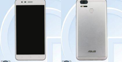 Asus ZenFone 3 Zoom kiinalaisviranomaisen TENAAn kuvissa.