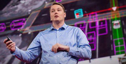 Chris Urmson on pitänyt myös TED-puheen.