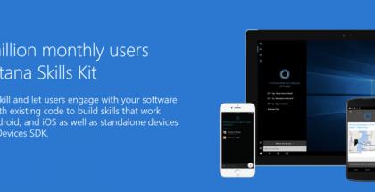 Cortana Skills Kit mahdollistaa kehittäjille palvelujen tuonnin tarjolle Cortanan kautta.