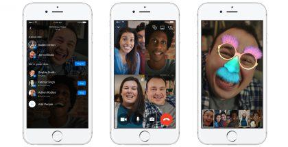 Ryhmävideopuhelut tulivat Facebook Messengeriin.