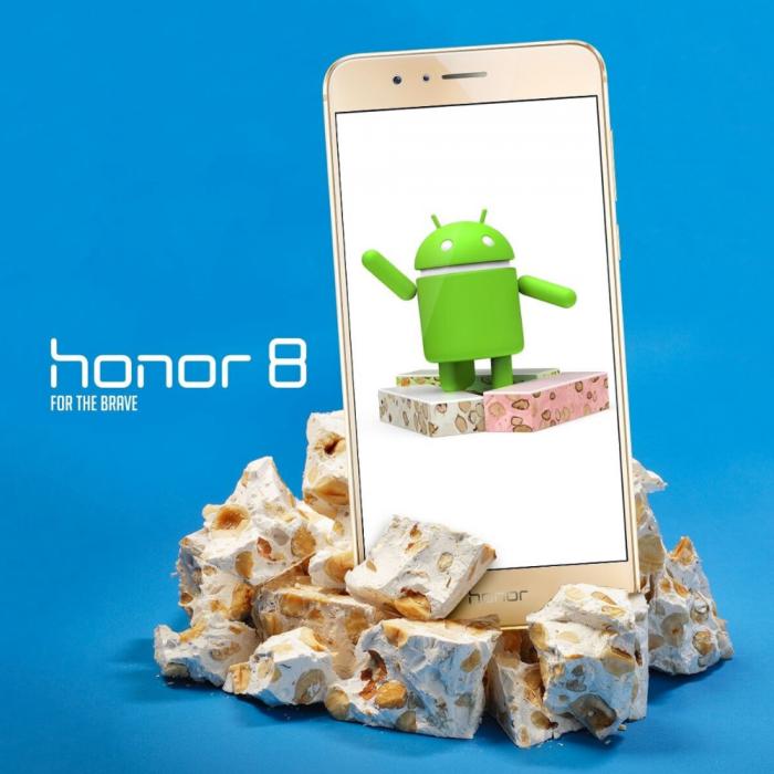 Honor 8:n Nougat-päivityksen beetatestaus on jo alkanut Suomessakin.