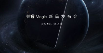Huawein ennakkokuva tulevasta Honor Magic -konseptiuutuudesta.