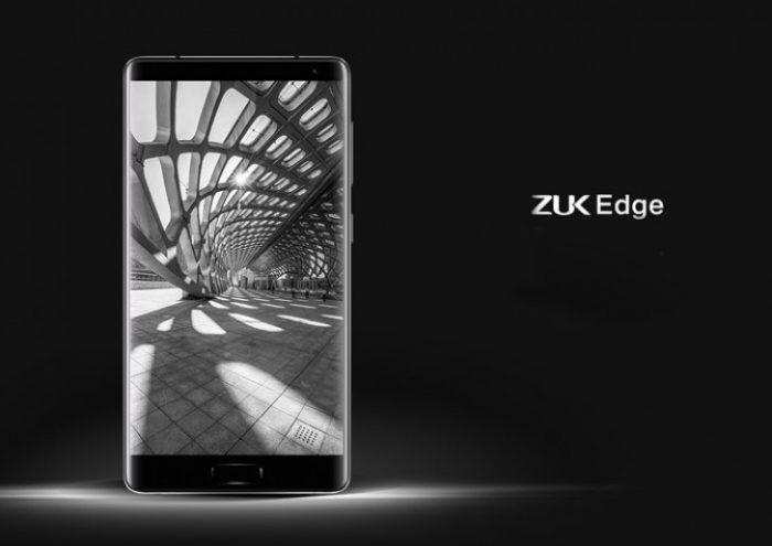 ZUK Edge sisältää varsin pienet näytönreunukset ja näytön kerrotaan kattavan 86,4 prosenttia etupuolen pinta-alasta.