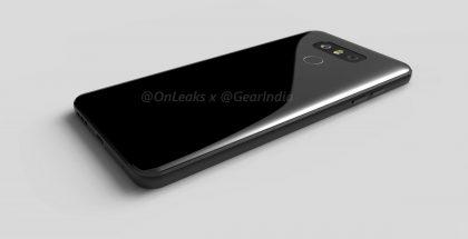 LG G6:n design renderöidyssä aiemmin julkaistussa kuvassa.