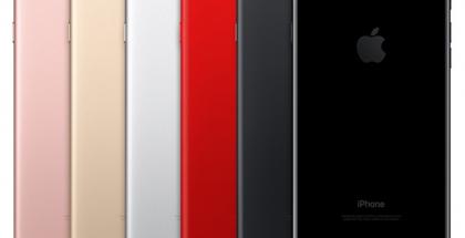Macotakaran luoma havainnollistava kuva punaisesta osana iPhone-värejä.