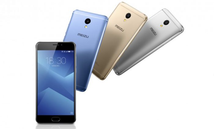 Meizu M5 Noten muita värivaihtoehtoja.