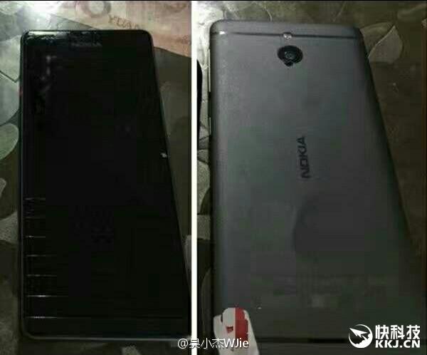 Väitetty kiinalaisperäinen kuva tulevasta Nokia-huippupuhelimesta.