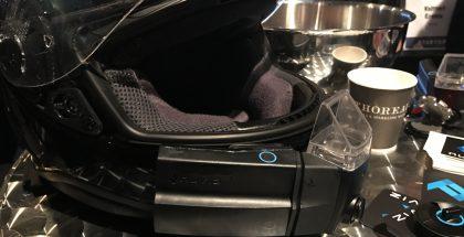 Slushissa oli nyt esillä ensimmäisen vaiheen prototyyppi NUVIZ-laitteesta.