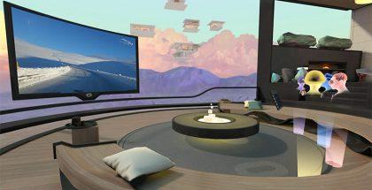 Oculus Rooms vie käyttäjät yhteiseen virtuaalitilaan. Muut näkyvät virtuaalitodellisuudessa osittain läpinäkyvinä hahmoina.