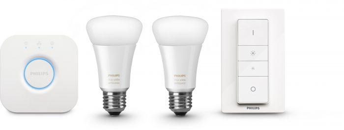 Philips Hue White Ambiance -aloituspakkaus.