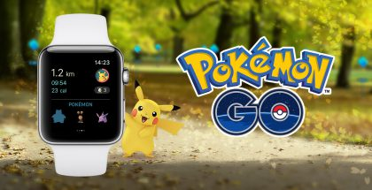 Pokémon GO Apple Watchille.