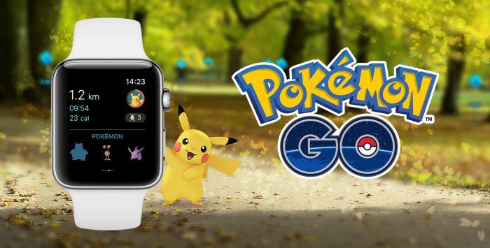 Pokémon GO Apple Watchille.