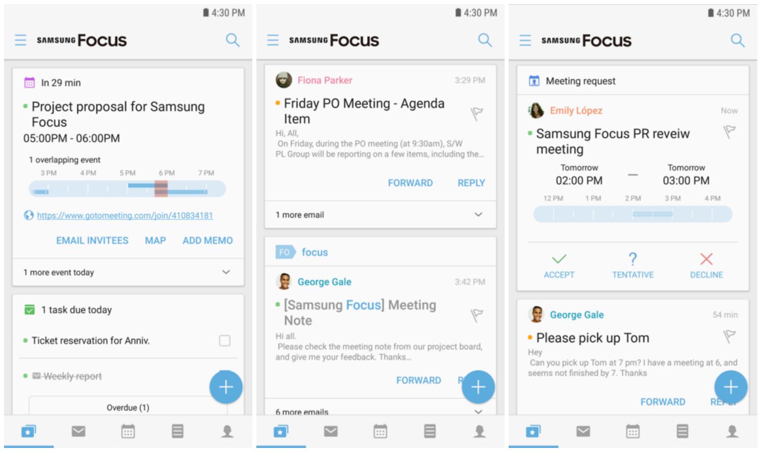Samsungilta uusi sovellus Androidille: yhdistää sähköpostin, kalenterin ja paljon muuta   Mobiili.fi