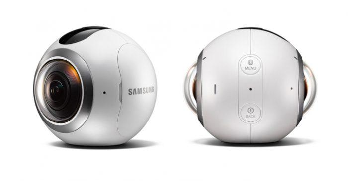 Samsung Gear 360.