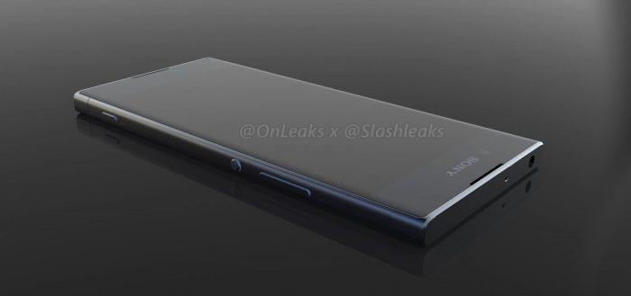 Sony-puhelin OnLeaksin ja SlashLeaksin julkaisemassa kuvassa.