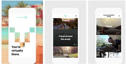 VirtualTraveller on tarjolla Androidille ja Applen iPhonelle.