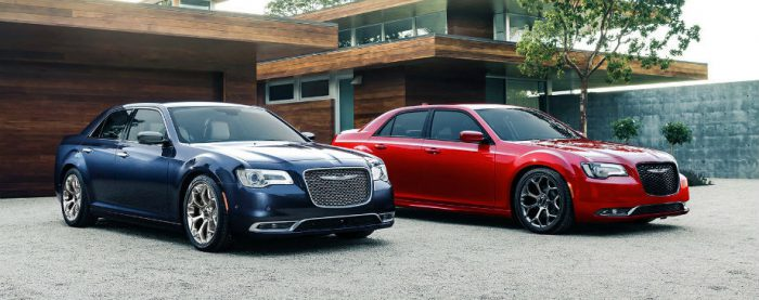 2017 Chrysler 300.