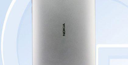 Hopeinen Nokia 6 kiinalaisviranomaisen TENAAn kuvassa.