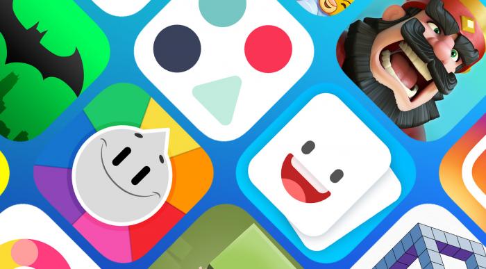 App Storen tarjontaa.
