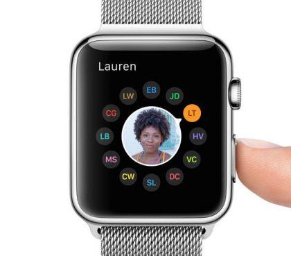 Tämä oli alkuperäisen Apple Watchin suurin floppi: sivupainikkeesta löytynyt kaverinäkymä ja erityisesti sen toiminnot muiden Watch-käyttäjien kanssa viestimiseen eivät kiinnostaneet juuri ketään.