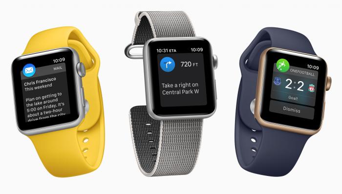 Tässä Apple Watchin parasta antia. Ilmoitukset viesteistä kuten sähköposteista, kätevät navigointiohjeet erityisesti kävellessä tai pyöräillessä sekä ilmoitukset myös monista muista sovelluksista.