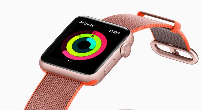 Apple Watch on mainio ja tyylikäs aktiivisuusmittari.