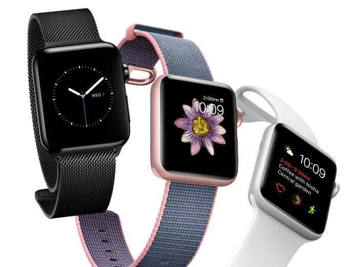 Tyylikkäät, laajasti muokattavat kellotaulut ovat Apple Watchin yksi vahvuus.