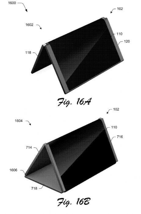 Microsoft taittuva puhelin patentti